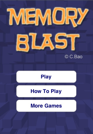 Screenshot Memory Blast Lite